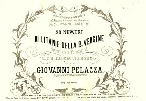 Giovanni Pelazza frontespizio